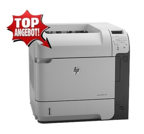 HP LaserJet Enterprise 600 - Aktion
